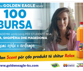 Fondacioni Humanitar Golden Eagle ndan 100 Bursa