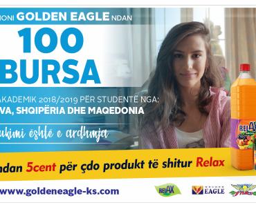 Fondacioni Humanitar Golden Eagle ndan 100 Bursa