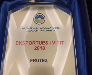 Frutex shpallet Exportusi i vitit 2018