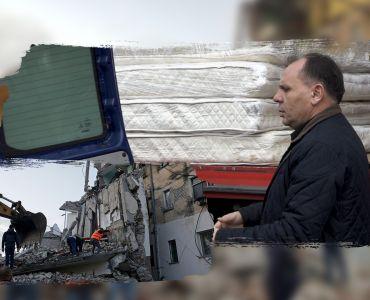 """Fondacioni """"Golden Eagle"""" me donacion mbi 7000 euro për banorët e prekur nga tërmeti"""